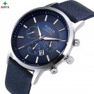Men Watches Fashion Wristwatch NORTH 30M Waterproof Stainless Steel Casual