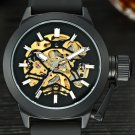 MCE Watch Top Brand Men's Automatic Watches Luxury Mechanical Wristwatches