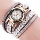 CCQ Women Fashion Casual AnalogQuartz Women Rhinestone Watch Bracelet Watch
