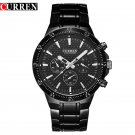 curren men watch blackcat quartz analog male clock curren  fashion wrist wa