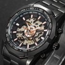 Mens Top Brand Luxury Mechanical Male Wrist Watch Stylish Classic Black Wat