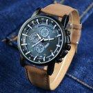 Top Brand Watch Men Fashion Luminous Sport Watches PU Leather Quartz Watch