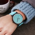 Harajuku Style Color jelly Fashion Women Watches Hardlex mirror Simple Leat