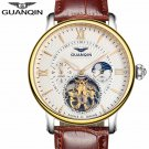 GUANQIN Mens Watches Top Brand Luxury Tourbillon Automatic Mechanical Watch