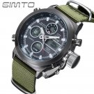 GIMTO Sport Mens Watches Quartz Watch Reloj Clock Male hour relogio Digital