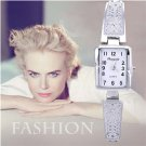 fashion silver watch women watches luxury bracelet women's watches ladies w