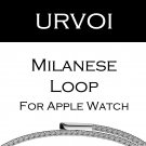 URVOI milanese loop for apple watch band Series 3 2 1 strap for iwatch stai