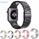 CRESTED Stainless Steel Watch band Strap for apple watch 42 mm 38 mm link b