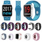 FOHUAS Brand Silicon Sports Band Colorful wrist Strap for Apple Watch 38/42