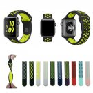 New colors sport silicone Bands for apple watch Series 1 2 3 38mm 42mm link