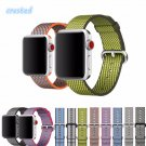 CRESTED Woven Nylon strap band for apple watch band 42 mm 38 mm sport brace