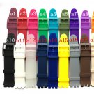 Watch accessories for Swatch strap buckle SWATCH silicone watch band 17mm 1
