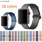 CRESTED New arrival Nylon strap band for apple watch band 42 mm 38 mm sport
