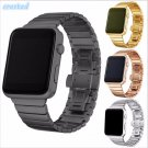 CRESTED Luxury watchband metal straps For Apple watch band 42mm stainless s