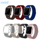 CRESTED Milanese Loop Strap Stainless Steel band For Apple Watch band 42mm/