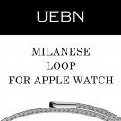 UEBN milanese loop for apple watch Series 1 2 band for iwatch stainless ste