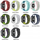 Sport Silicone band strap for apple watch bracelet wrist band watch watchba