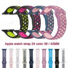 Soft Silicone Sport Band For Apple Watch Series 2 Replacement Strap for App