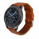 Genuine Leather Strap For Samsung Gear S3 Smart Watch Band Replacement Watc