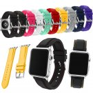 New Arrival 10 Colors Silicone Strap for Apple Watch Band Series 3/2/1 Repl