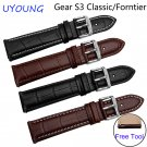 For Samsung Gear S3 Classic/Forntier Quality Genuine Leather Watch bands 22