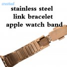 CRESTED Stainless Steel watch strap for Apple Watch Band 42mm/38 Link Chain