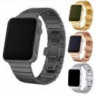 YIFALIAN Black White Glossy Ceramic Watch Band Strap for Apple Watch iwatch