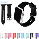 CRESTED sport silicone watch strap for apple watch band 42 mm/38 rubber bra