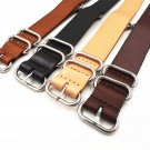 1PCS High quality 18MM 20MM 22MM 24MM Nato strap genuine cow leather Watch