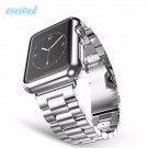 CRESTED Three bead  Stainless Steel Watch Band Strap for Apple Watch Band 4
