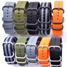 Men Women Heavy duty nylon straps 20mm 22mm 24mm Nylon Watch Band Strap NAT