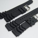 Replacement for Rubber Diver Watch Strap silicone Band for seiko SKX171/173