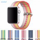 CRESTED sport woven nylon strap watch band For Apple Watch band 42 mm/38 me
