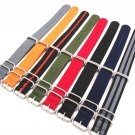 Wholesale 10PCS/lot Heavy duty nylon straps 20mm 22mm 24mm Nylon Watch band