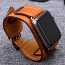 Series 3 2 1 Genuine For Apple Watch band Buckle Cuff Leather Loop 42mm 38m