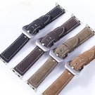 High Quality Vintage Style Genuine Leather Strap Retro Watch Band For Apple
