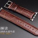 YIFALIAN Series 3/2/1 Black Brown Luxury Crocodile  Leather Strap Watch ban