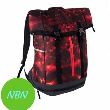NIKE AIR MAX Lebron Ambassador Backpack (Daring Red)