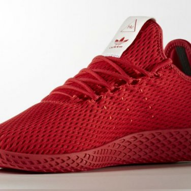 Pharrell Williams x Adidas Tennis Hu Sneakers - Red