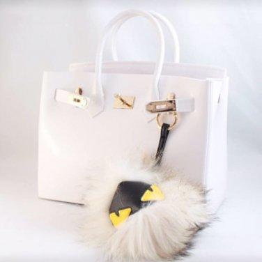 FENDI Monster Fur Charm For Beachkin And Bags
