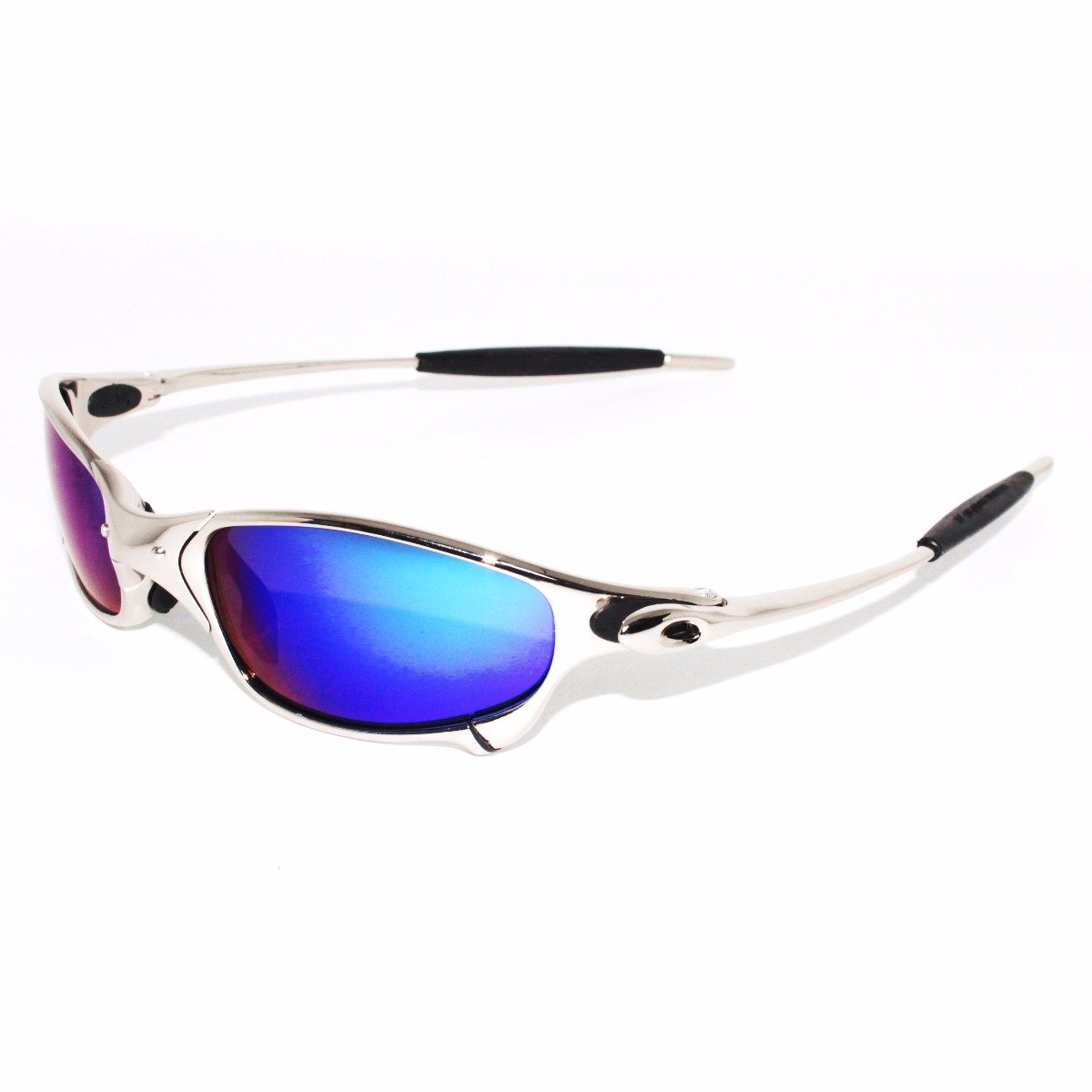 Oakley Sunglasses X Metal Juliet - Silver with Blue