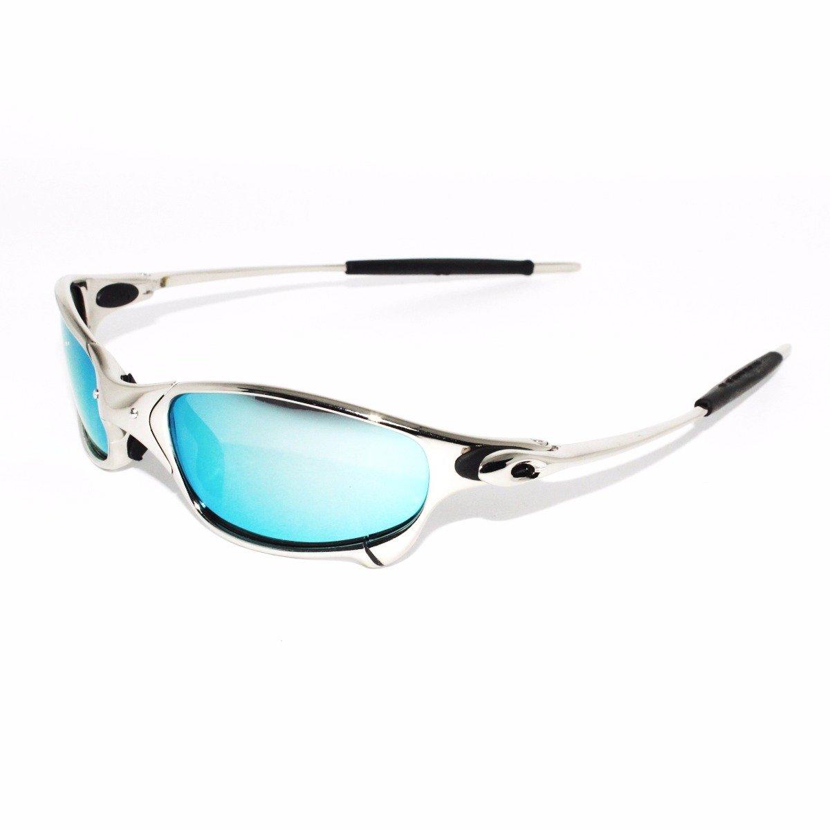 Oakley Sunglasses x-metal Juliet - Silver with Blue