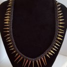 Braided Spike Necklace