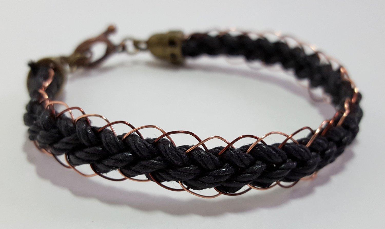 Copper Wire Braided Bracelet