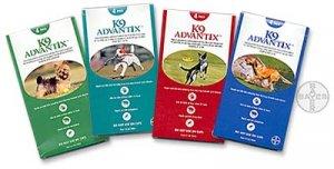 ADVANTIX 10 - Green (0-10 lb Dogs) - 4 months