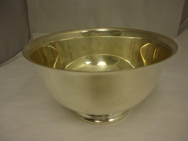 Silverplate Paul Revere Bowl Reproduction