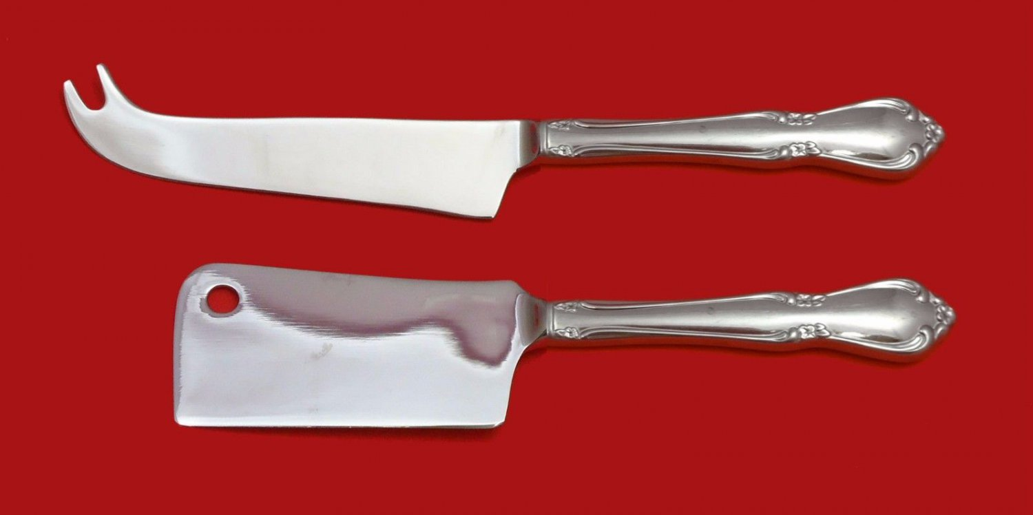 CHATEAU COMMUNITY ONEIDA STAINLESS STEEL CHEESE SET