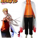 Naruto The movie The last-Uzumaki Naruto Seventh Hokage Cosplay Costume
