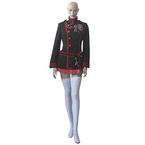 D Gray Man 3rd Version Lenalee Lee Uniform Cosplay Costume