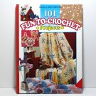 Crochet Book, 101 Fun To Crochet Projects, Crochet Patterns, Holiday Patterns